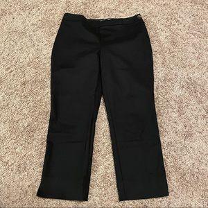 Chico's Black Capri Work Dress Pants Size 0.5